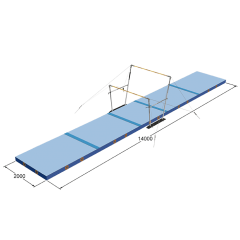 Spieth Competition set of mats for Uneven Bars