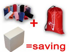 Cotton wrist bands, Handguard Bag and Block of Chalk **OFFER**